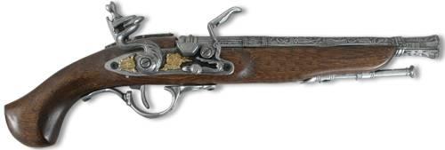 пистолет с кремневым замком
