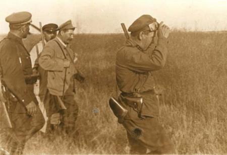 с оружием Сталин